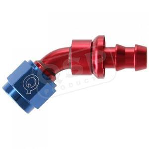 Końcówka aluminiowa QSP Push-On 45* D10 - 2823538335