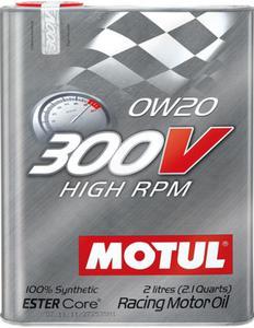 Olej silnikowy 300V HIGH RPM 0W20 2l - 2823538340