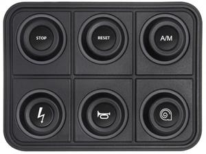 Klawiatura - panel ECUMASTER CAN BUS 6 przycisk - 2860210777