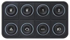 Klawiatura - panel ECUMASTER CAN BUS 8 przycisk - 2860210778