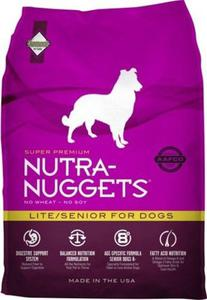 NUTRA NUGGETS Lite/Senior for Dogs 2 x 15 kg - 2831098114