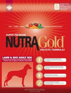 NUTRA GOLD HOLISTIC Lamb & Rice Adult Dog 2 x 15 kg - 2839181869