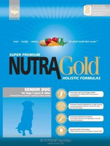 NUTRA GOLD HOLISTIC Senior Dog 2 x 15 kg - 2846854701