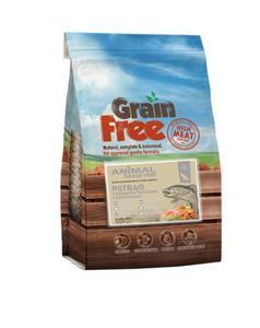 ANIMAL GRAIN FREE   Senior - łosoś z pstrągiem, batatami i szparagami 12 kg - 2853379505