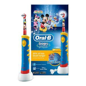 Szczoteczka elektryczna Braun Oral-B Advance Power 950 TX - szczoteczka dla dzieci z muzycznym timerem - 2873168884