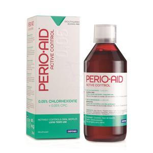 Perio-Aid Active Control 0,05% 500ml - płyn do płukania jamy ustnej z antybakteryjną chlorheksydyną - 2827460156