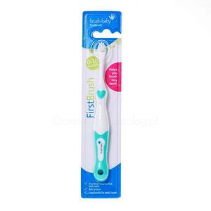 Brush-Baby FirstBrush - szczoteczka manualna dla maluchów - 2827460348