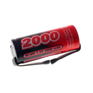 Akumulator Ogniwo 1.2V 2000mAh Ni-Mh 4/5A - Blaszki - 2855542516