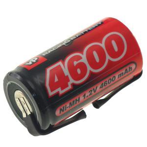 Akumulator Ogniwo 1.2V 4600mAh Ni-Mh SubC (SC) - Blaszki - 2855542524