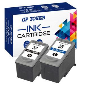 Tusze Canon PG-37 + CL-38 iP1800, iP1900, iP2500, iP2600, MP140, MP190, MP210, MP220, MX300, MX310 - zamiennik GP-C37+38 ZESTAW - 2823916507