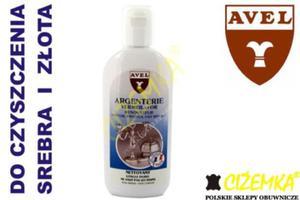 AVEL ARGENTERIE SILVER CLEANER GOLD CLEANER środek do czyszczenia SREBRA I ZŁOTA 250ml - 2842028859