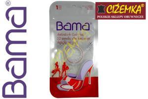 BAMA Półwkładki ŻELOWE HAMULEC STOPY ANTYPOŚLIZGOWE do butów czółenek szpilek silikonowe - 2842029035