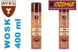 AVEL Wosk do renowacji skór spray RENOWACJA 400 ml - 2842028143
