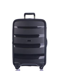 Średnia walizka PUCCINI PP012 Acapulco czarna - czarny - 2853381283
