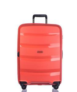 Średnia walizka PUCCINI PP012 Acapulco pomarańczowa - pomarańczowy - 2845913246