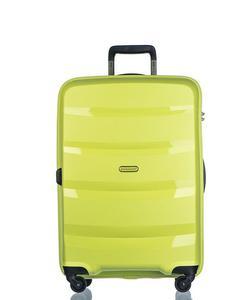 Średnia walizka PUCCINI PP012 Acapulco limonkowa - zielona limonka - 2853381292
