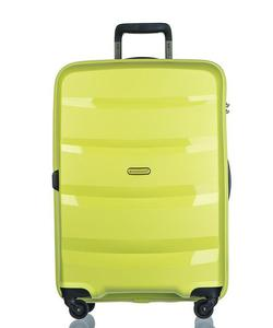 Duża walizka PUCCINI PP012 Acapulco limonkowa - zielona limonka - 2853381294