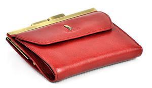 Portfel damski PUCCINI P-1951 czerwony - czerwony - 2845912884