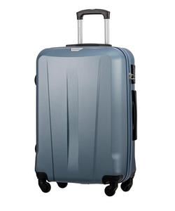 Duża walizka PUCCINI ABS03 Paris niebieska - niebieski - 2849840241