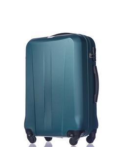 Średnia walizka PUCCINI ABS03 Paris ciemnozielona - ciemnozielony - 2855314647