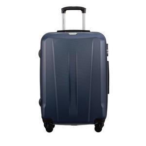 Średnia walizka PUCCINI ABS03 Paris granatowa - granatowy - 2852735758