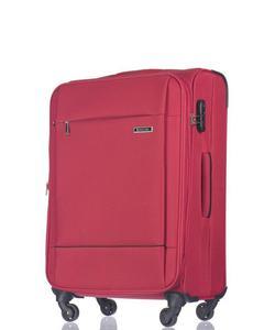 Średnia walizka PUCCINI EM-50720 Parma czerwona - czerwony - 2854172081