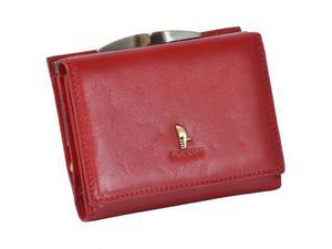 Portfel damski PUCCINI P-1701 czerwony - czerwony - 2857924280