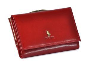 Portfel damski PUCCINI P-1950 czerwony - czerwony - 2847845130