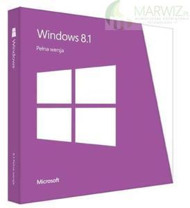 MICROSOFT Windows 8.1 32/64 bit PL DVD BOX (WN7-00934) - 2836519695