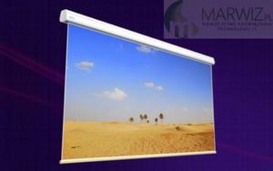 Ekran elektrycznie rozwijany Avers SOLAR 60-34, wymiar 600x338 lub 600x375 (Format 16:9 lub 16:10) Negocjacja cen! - 2869052127