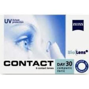 Soczewki Zeiss Contact Day30 Compatic Toric 6szt. - 2822116515