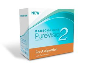 Soczewki PureVision 2HD for Astigmatism 6szt. - 2822116572