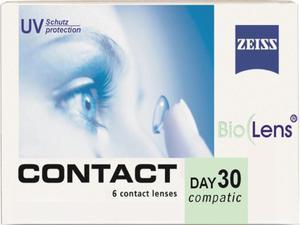 Soczewki Zeiss Contact Day30 Compatic 6szt. - 8,6 (moc +) - 2822116602