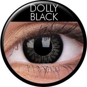 Soczewki Kolorowe ColourVue Big Eyes 2szt. - Dolly Black - 2822116609