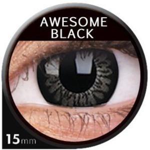 Soczewki Kolorowe ColourVUE Big Eyes 15mm 2szt. - Awesome Black - 2822116610