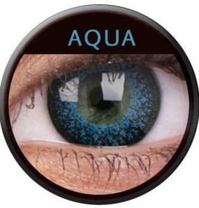 Soczewki Kolorowe ColourVue Eyelush 2szt. - Aqua - 2822116611