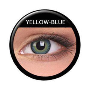 Soczewki Kolorowe ColourVue Fusion 2szt. - Yellow Blue - 2822116615