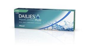 Soczewki Dailies AquaComfort Plus Toric 30szt. - 2822116619