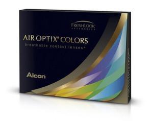 Soczewki Air Optix Colors zmieniające 2szt. - Briliant Blue (Błękitne) - 2822116624