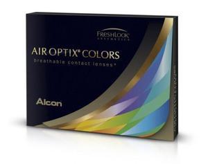 Soczewki Air Optix Colors podkreślające 2szt. - Pure Hazel (Piwne) - 2822116625