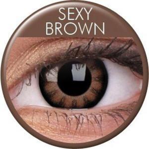 Soczewki Kolorowe ColourVue Big Eyes 2szt. - Sexy Brown - 2822116642