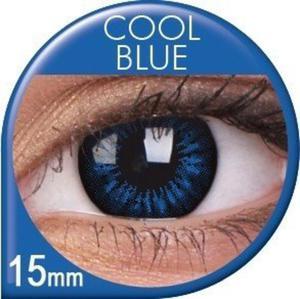 Soczewki Kolorowe ColourVUE Big Eyes 15mm 2szt. - Cool Blue - 2822116644