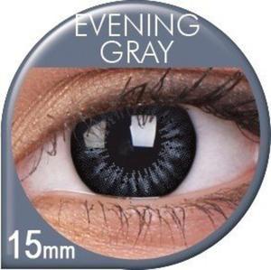 Soczewki Kolorowe ColourVUE Big Eyes 15mm 2szt. - Evening Gray - 2822116645