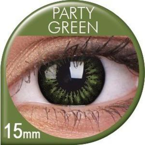 Soczewki Kolorowe ColourVUE Big Eyes 15mm 2szt. - Party Green - 2822116646