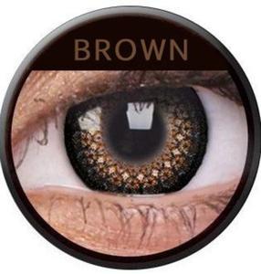 Soczewki Kolorowe ColourVue Eyelush 2szt. - Brown (Brązowy) - 2822116649