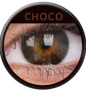 Soczewki Kolorowe ColourVue Eyelush 2szt. - Choco - 2822116650