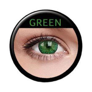 Soczewki Kolorowe ColourVue Elegance 2szt. - Green (Zielony) - 2822116655