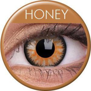 Soczewki Kolorowe ColourVue Glamour 2szt. - Honey (Miodowe) - 2822116661