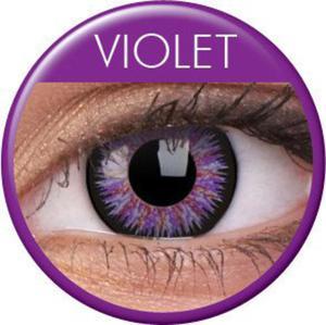Soczewki Kolorowe ColourVue Glamour 2szt. - Violet (Fiolet) - 2822116662