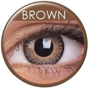 Soczewki Kolorowe ColourVue 3 Tones 2szt. - Brown (Brązowy) - 2822116663